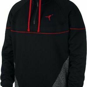 Air Jordan men's hoodie 3x black nike